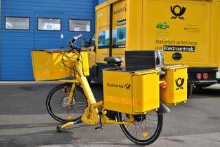 Pedelec Bike Deutsche Post
